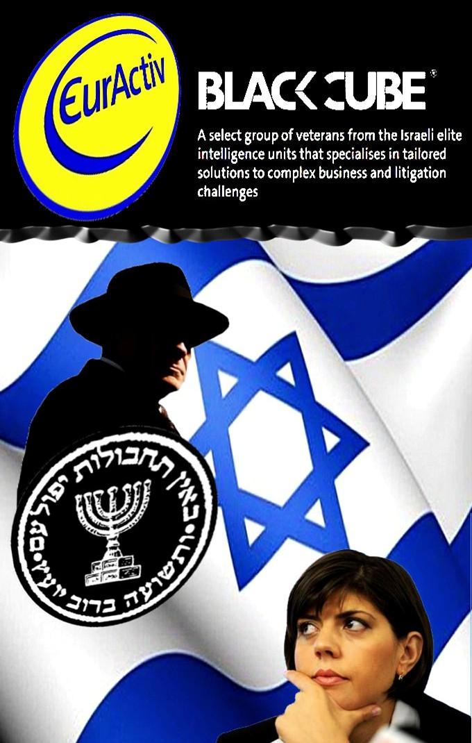 """Binomul"" suspect, EurActiv - Mossad EurActive-Mossad"