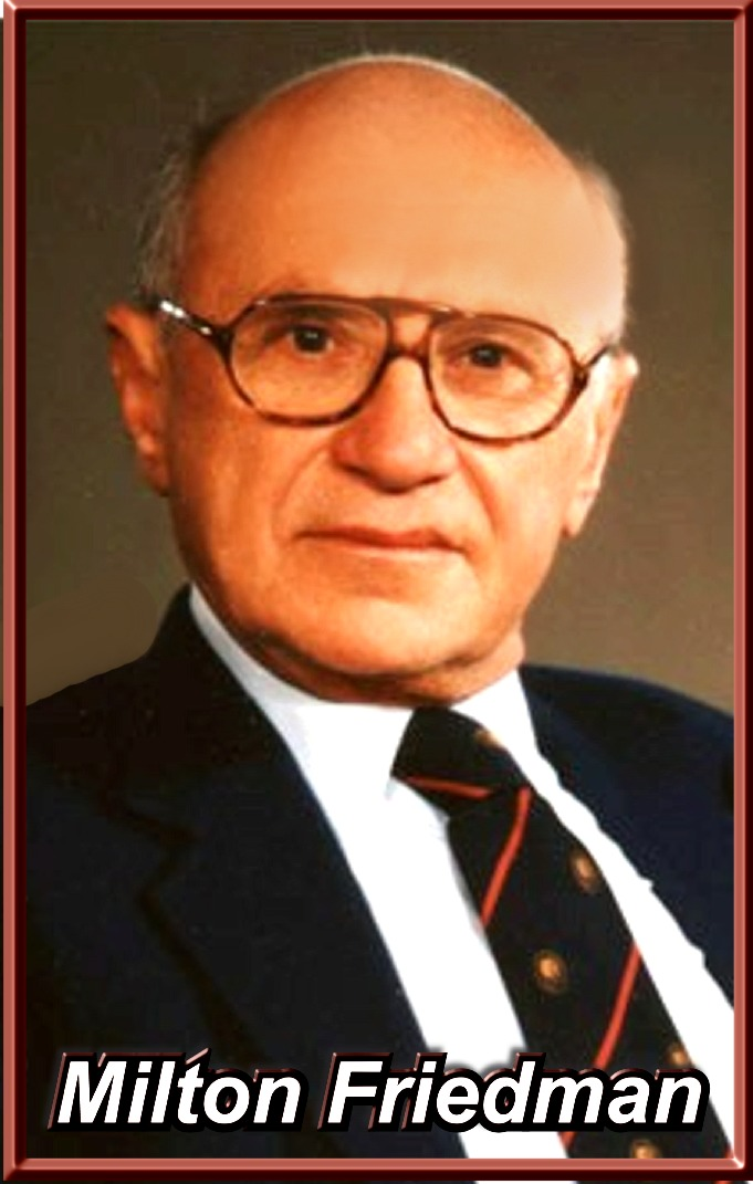 milton friedman Milton friedman (july 31, 1912 - november 16, 2006) was an american economist who made major contributions to the fields of macroeconomics, microeconomics, economic history and statistics while advocating laissez-faire capitalism.