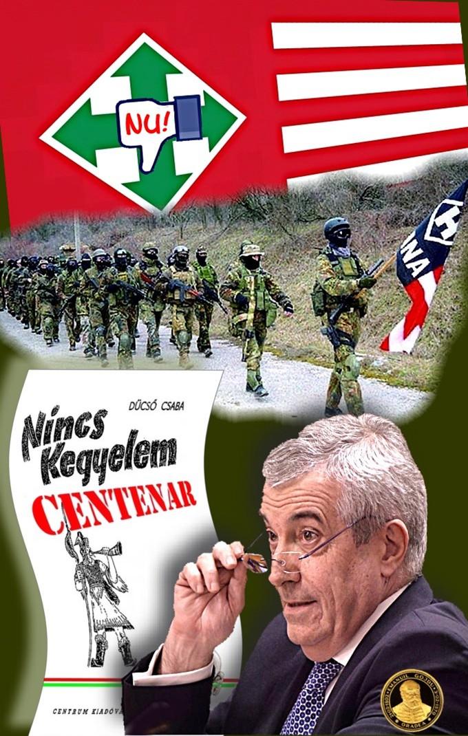 Nu! legiferarii garzilor paramilitare maghiare!
