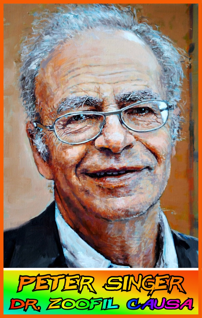 "Peter Singer - ""Doctor Zoofil Causa"""