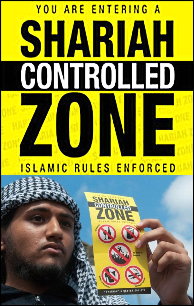Shariah controlled zone