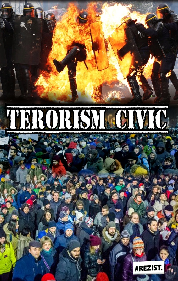 Terorism civic