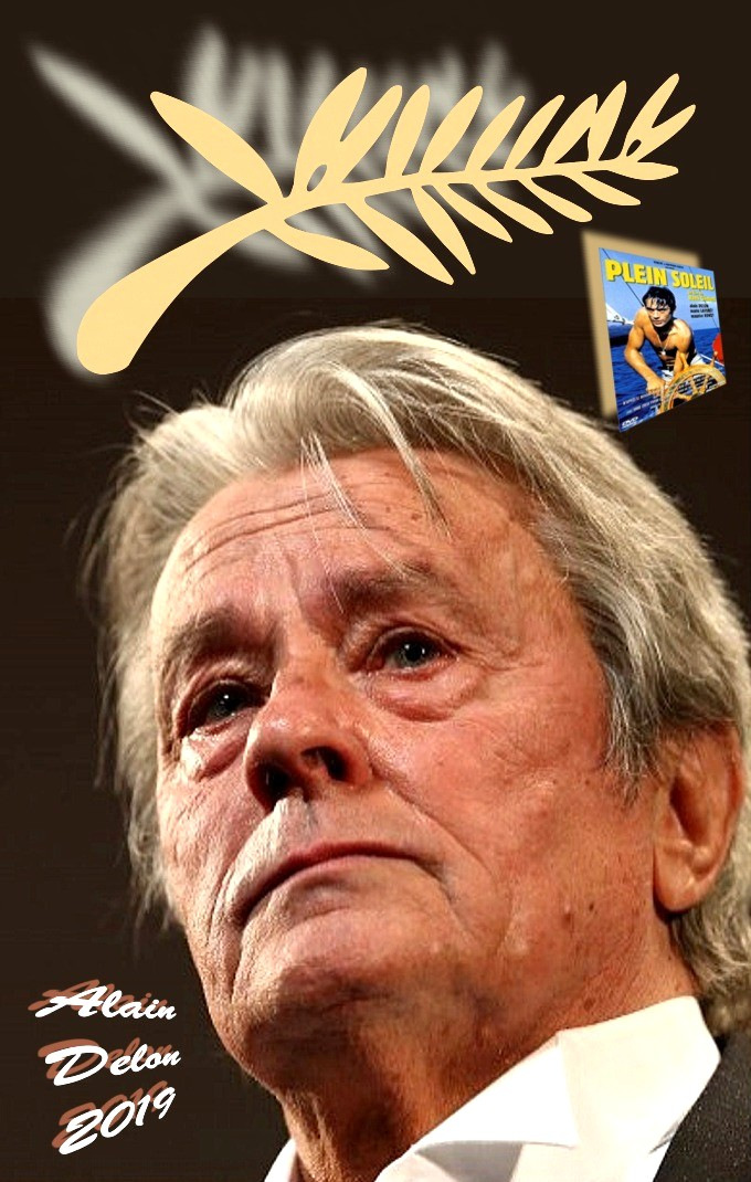 Alain Delon-Palme d or 2019