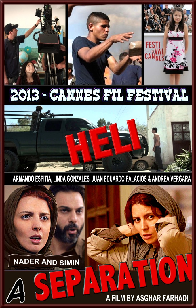 Heli, Separation, Cannes-2013
