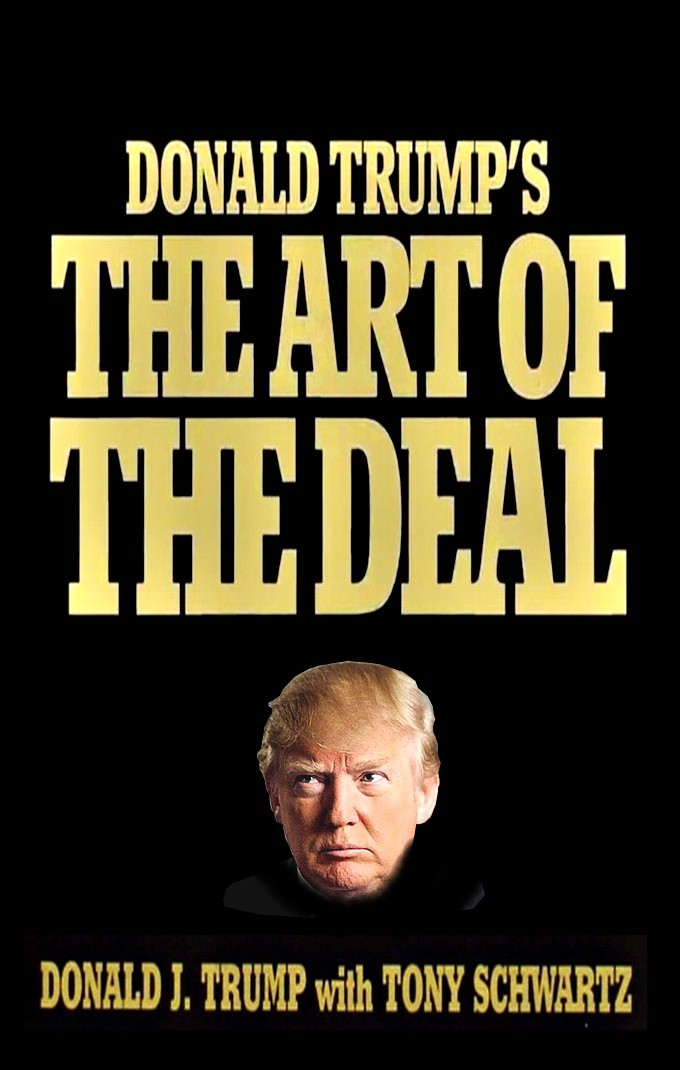 Donald Trump-The Art of The Deal, art-emis
