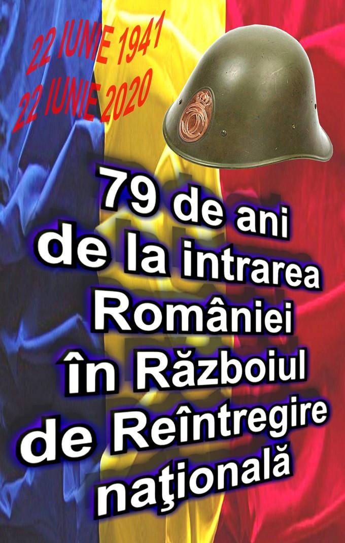 22 iunie 1941-2020 79 ani