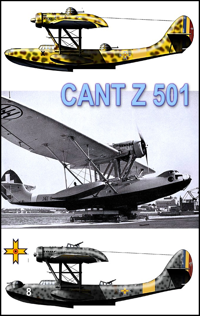 Hidroavion CANT Z 501