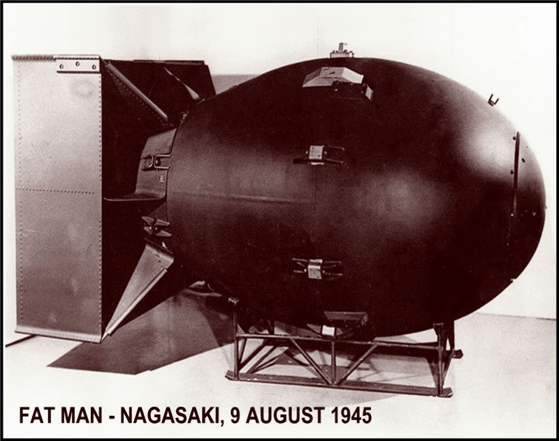 Fat Man - 9 august 1945- Nagasaki