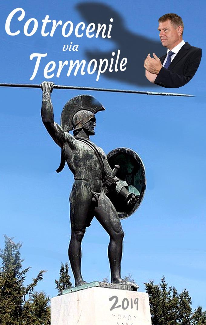 Cotroceni via Termopile 2019
