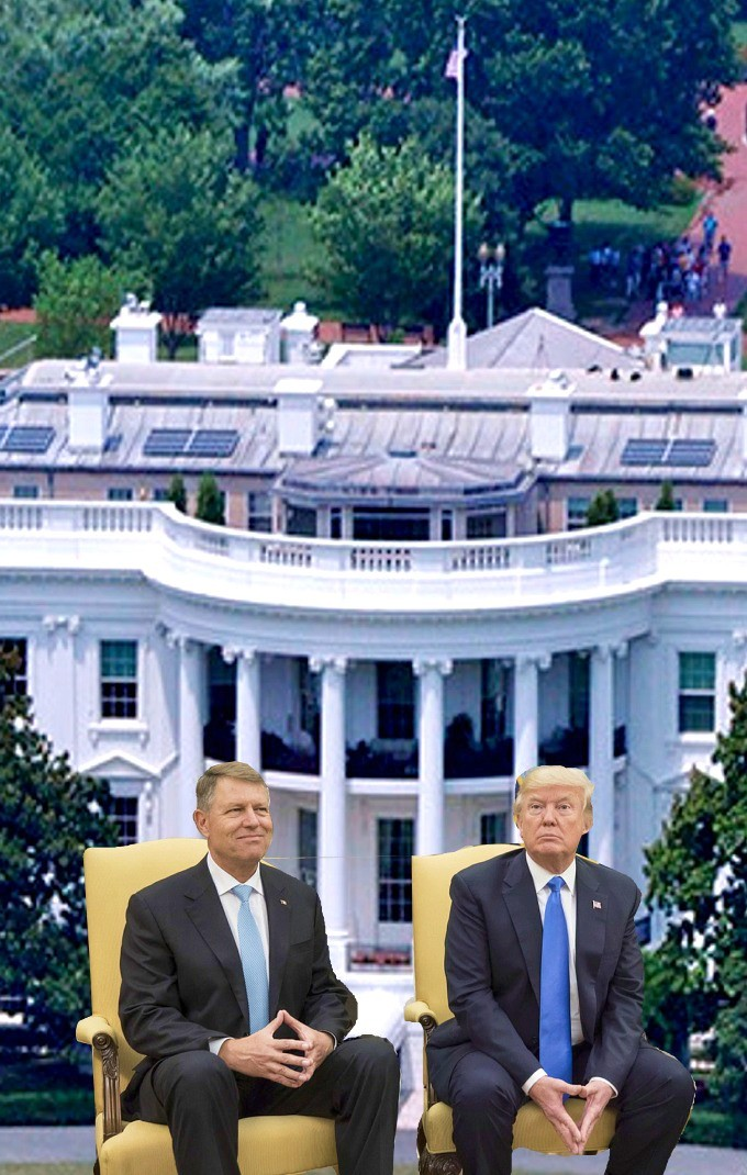 Iohannis-Trump-Washington 20.08.2019