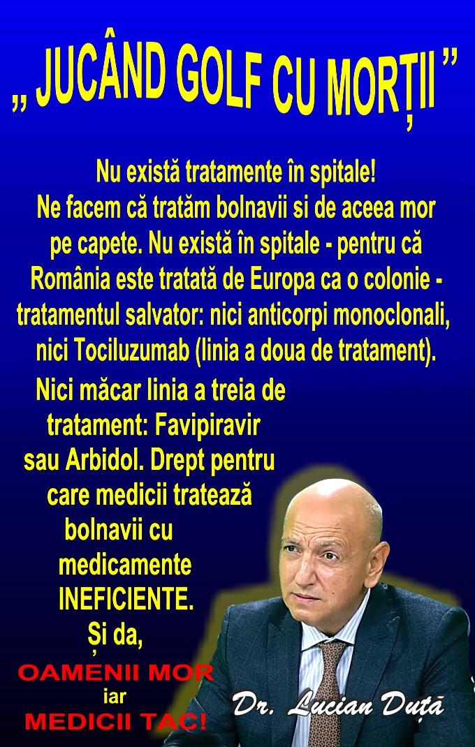 """Perfuzia care ar putea vindeca boala Covid-19. Guvernul știe, dar nu acționează. """"Statul este criminal!"""""""