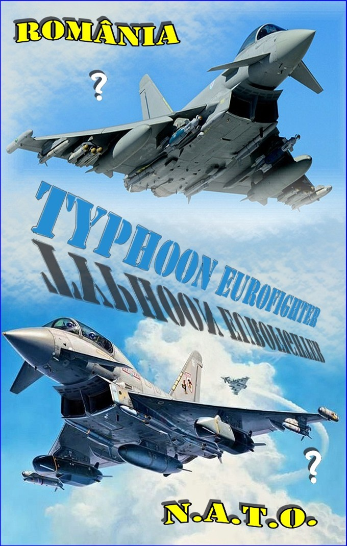 Typhoon Eurofighter - Ro-NATO